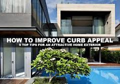 5 remarkable projects and ideas to improve your home's curb appeal