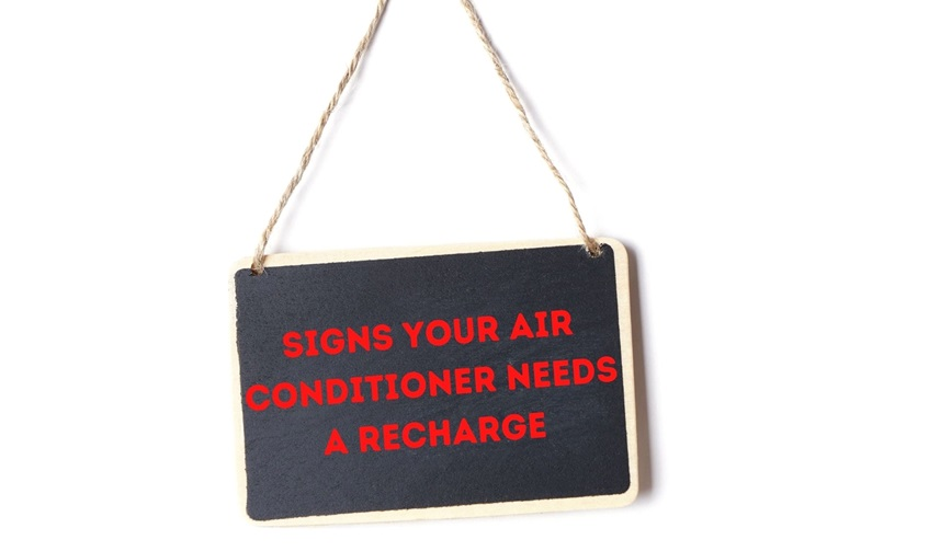 Signs Your Air Conditioner Needs a Recharge